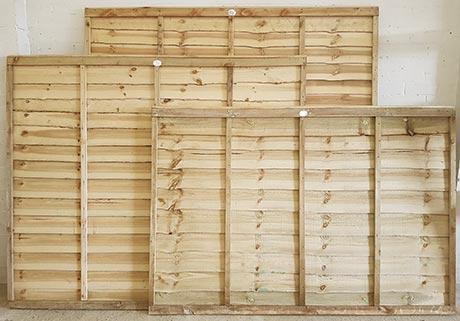 Lapped panels