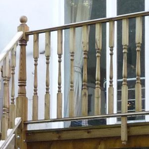 Balustrade timber product