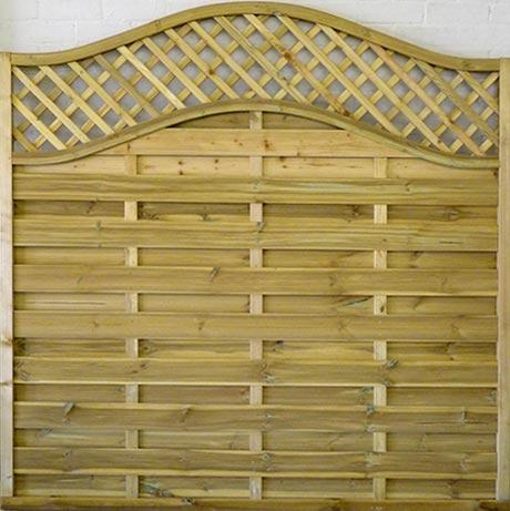 Neris fence panel