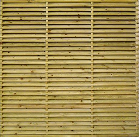 Shropshire fence panel