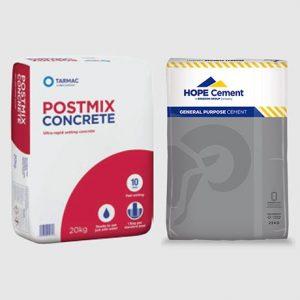 Postmix concrete & cement