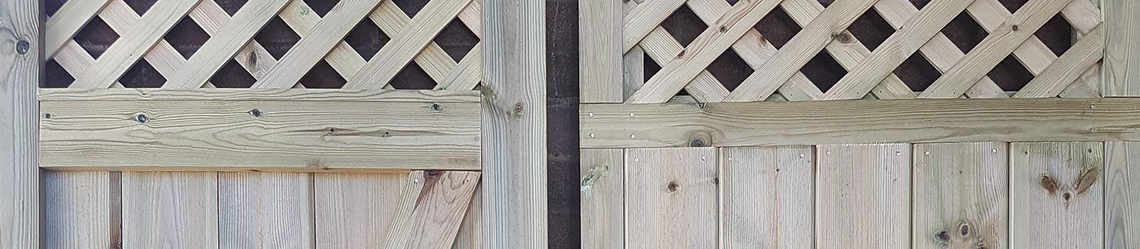 Bespoke double gate