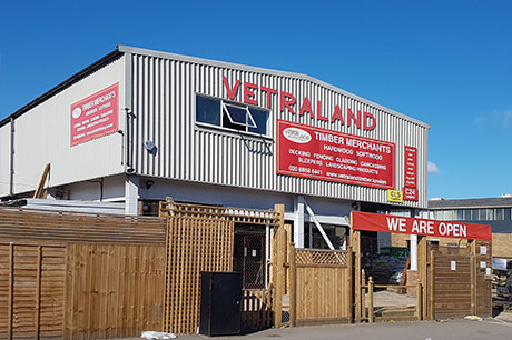Vetraland Selective Timber premises, Greenwich SE10