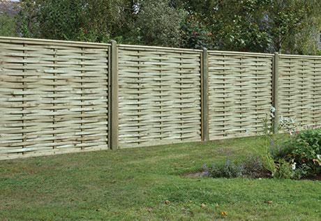 Premium Woven fencing panel