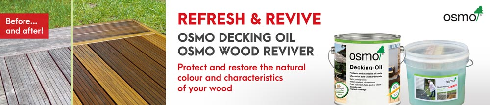 Decking oil & wood reviver product offer