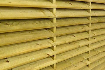 Fencing South London, London timber supplies