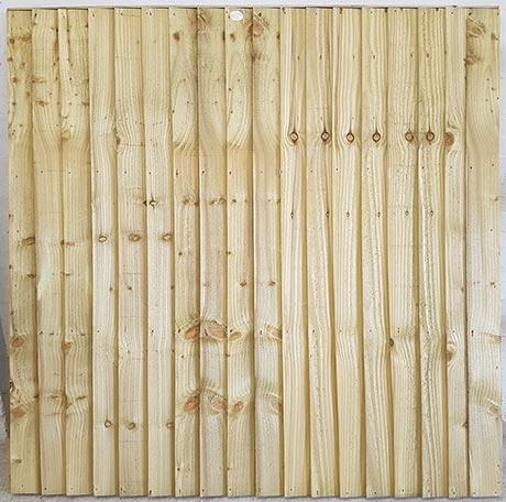 Closeboard fencing panel