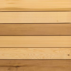 Canadian Western Red Cedar cladding timber