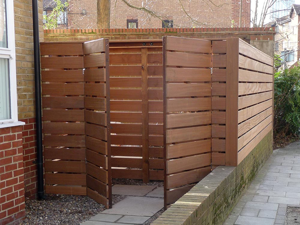 Contemporary Fence Panels London