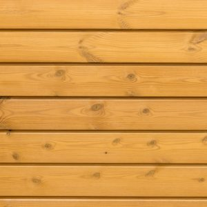 Redwood timber cladding