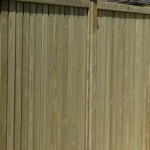 Tongue and groove fencing