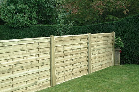 Square horizontal fencing