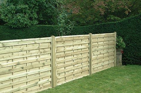 Square horizontal fencing
