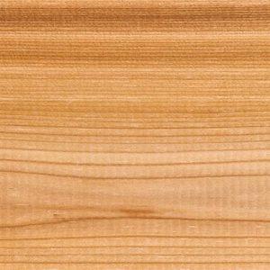 Cedar softwood