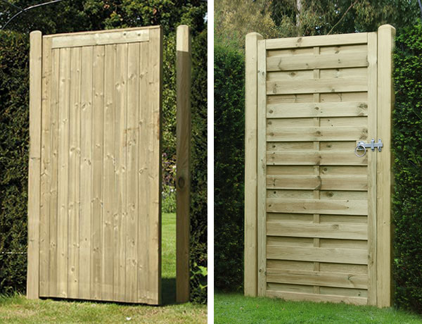 Elite Tongue & Groove and Square Horizontal gates