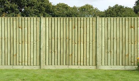 Closeboard Feather Edge Fencing Vetraland Selective