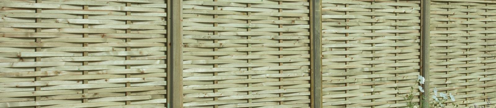 Premium woven fencing