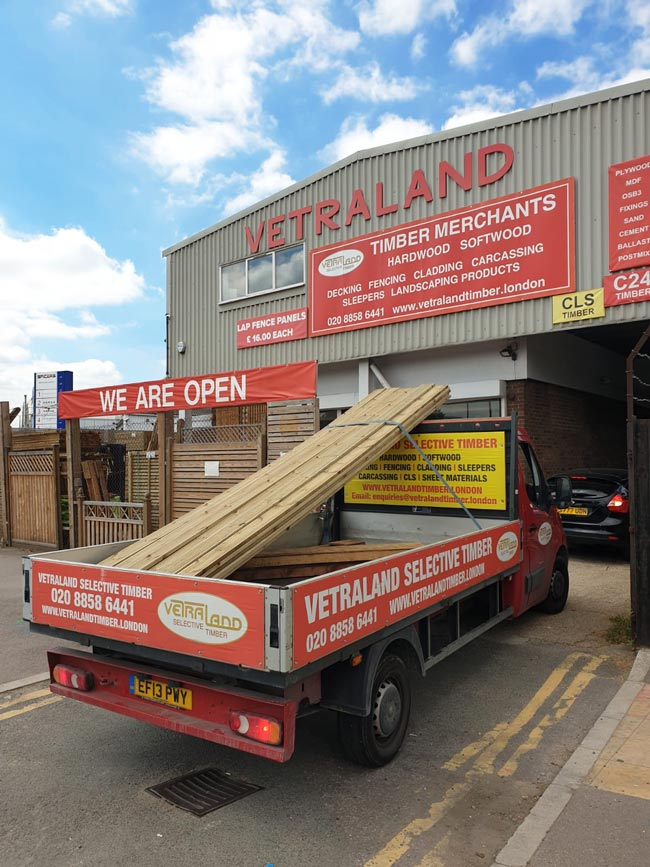 Decking london delivery