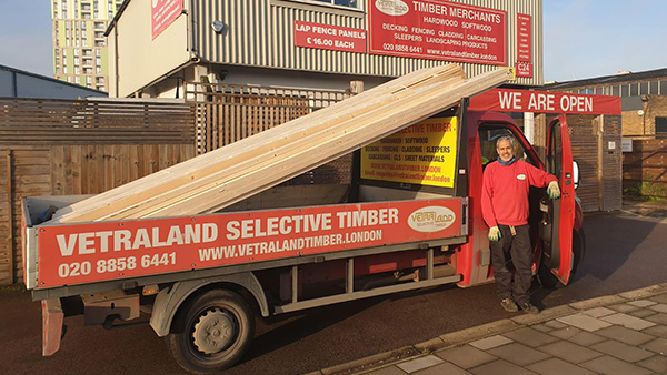 Max, Vetraland timber delivery London M25