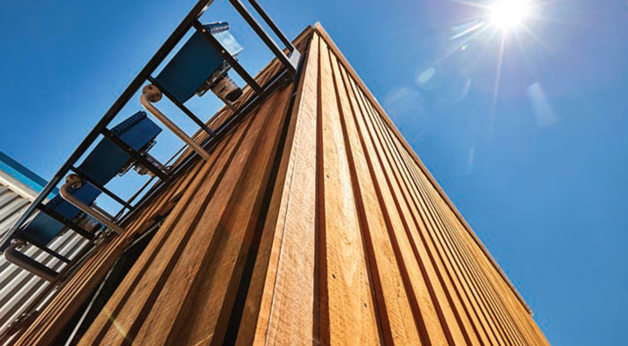 Lignia external timber cladding