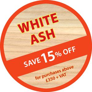 White Ash timber offer